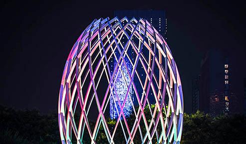 春节城市亮化-提升居民幸福感