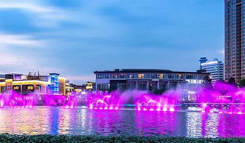 夜景灯光秀逐渐成为城市新地标