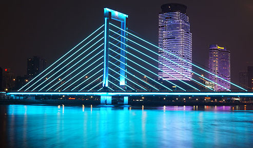 桥体夜景照明设计