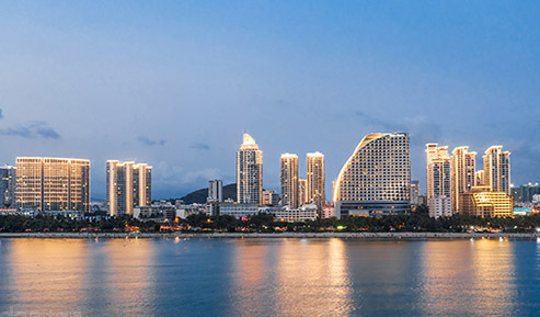 【三亚】城市亮化改造—白天看绿化 晚上看亮化