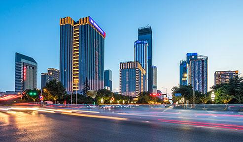 西安高新区城市(夜景)照明设计规划