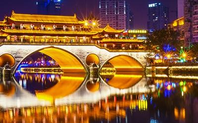 文旅夜景工程中式建筑的照明解决方案
