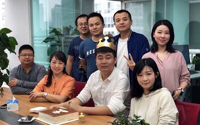 洲明·信达西安分公司九月生日会