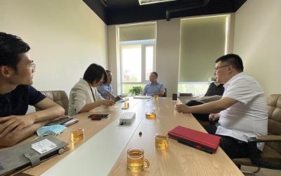 董事长王春龙带领信达科技一行访问北京普天智慧科技有限公司