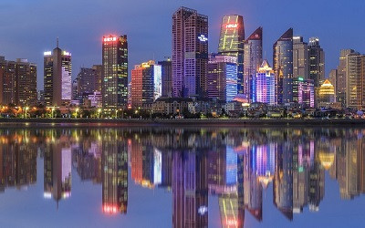 """城市地标灯光秀成为城市""""营销""""爆款"""