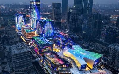 城市灯光秀的积极意义