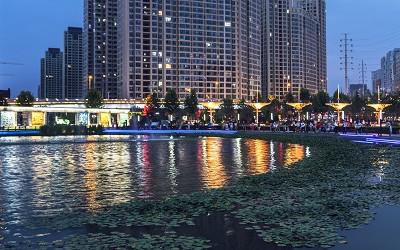 城市照明美化城市夜景观