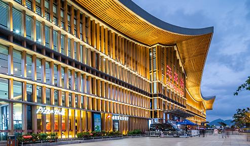 三亚火车站夜景提升项目