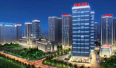 明威投资大厦建筑照明项目