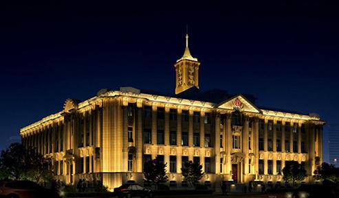 大连工商银行夜景照明项目