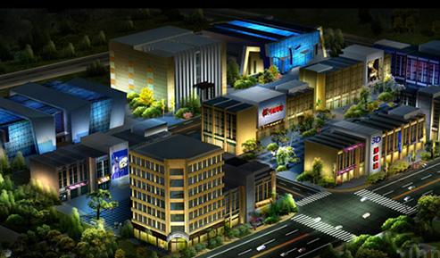 兴福隆商场亮化照明项目