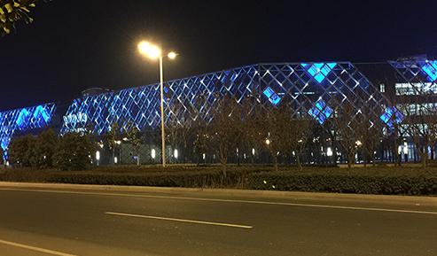 东海水晶城景观照明项目