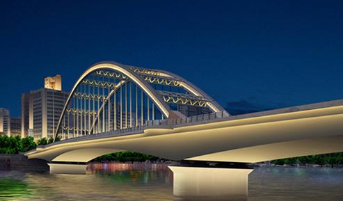 元通大桥夜景照明项目