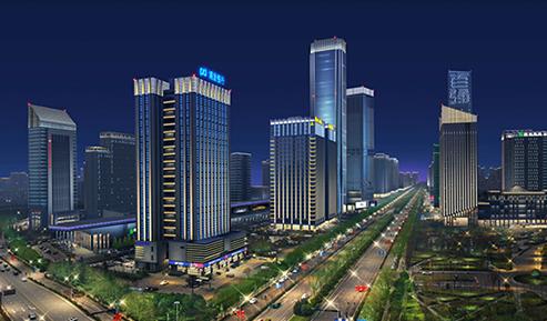 西安锦业路和唐延路夜景规划项目