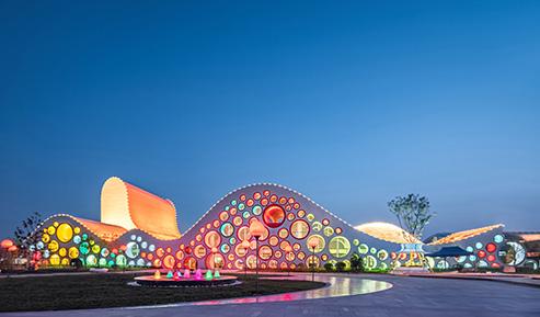 西安国际少儿美术馆夜景照明项目