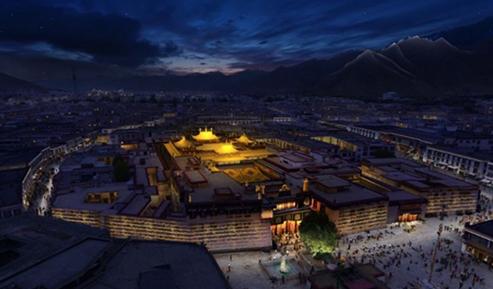 成都市高新区夜景照明规划设计