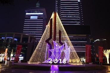 西安高新区2018春节亮化项目