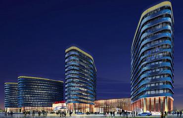 沣东新城医院夜景照明设计