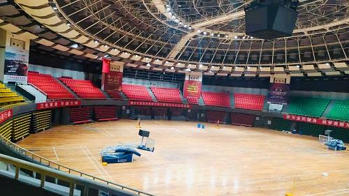 三峡之星体育馆智能控制亮化项目
