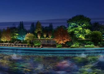 西峰寺沟景观照明规划设计
