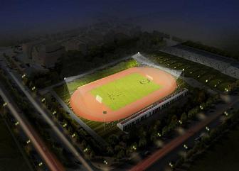 顺义体育中心体育场照明设计