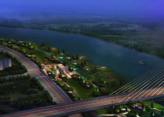 贵溪信江沿河景观照明规划设计