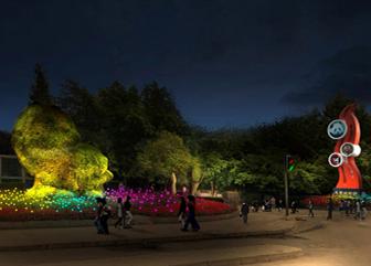 成都动物园照明规划设计