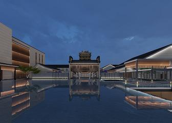 成都东安湖精品酒店照明设计