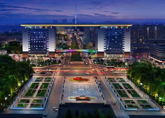 长春汽车经济技术开发区夜景提升设计